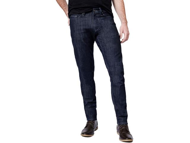 DUER Performance Denim Pantalons Fin Homme, indigo rinse wash